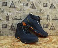 Ботинки мужские в стиле Columbia натуральная кожа качественные