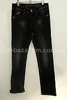 Детские-подростковые утеплённые джинсы CROSSNESS(26-31) на мальчика оптом на флисе  —  от производителя на 7км, фото 1