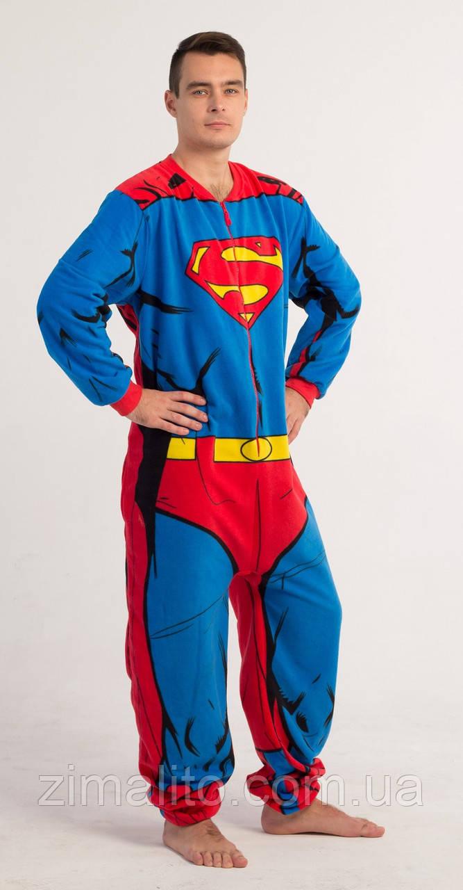 """Комбинезон """"Супермен"""" мужской"""