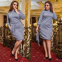 Платье (48-50, 52-54) — ангора купить оптом и в розницу в одессе  7км