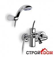 Смеситель для ванны и душа Roca Atai A5A0134A00 Нержавеющая Сталь Полированная
