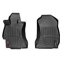 Коврики в салон Subaru Forester 2013- с бортиком передние, черные Код:568588581