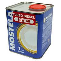 Масло моторное Mostela 10W-40 CF-4/SG Turbo Diesel 0.95 л N40711884