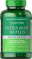 Витамины для мужчин Puritan's Pride Ultra man 50 Plus (120 капс)
