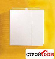 Зеркальный шкаф со светильником Kolpa-san Zena TOZ 60 (белый)