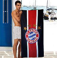 Мужское пляжное полотенце FC Bayern Munchen - №2896