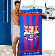 Чоловічий пляжний рушник FC Barcelona - №2895