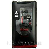 Наушники  ERGO ES-200 black +box