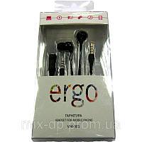 Гарнитура для телефона ERGO VM-901 black