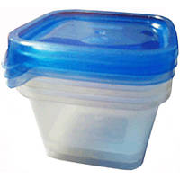 Набор емкостей для пищевых продуктов Пластторг 82736 3x0.45 л N50971359