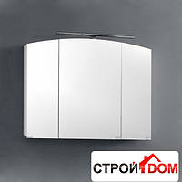 Зеркальный шкаф со светильником Kolpa-san Iman TOI 80 (антрацит)