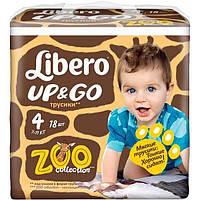 Подгузники Libero Up & Go 4 Maxi 7-11 кг 18 шт N51306269