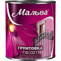 Грунт Мальва ГФ-021 красно-коричневый 2.8 кг N50120001