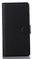 Кожаный чехол-книжка для Sony Xperia M5 E5603 E5606 E5653 черный
