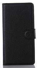 Шкіряний чохол-книжка для Sony Xperia M5 E5603 E5606 E5653 чорний