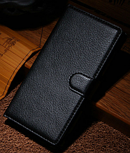 Кожаный чехол-книжка для Sony Xperia Z L36h C6602 C6603 черный