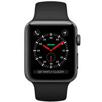 Умные часы Apple Watch Series 3 Space Gray Aluminum Case with Black Sport Band (US)