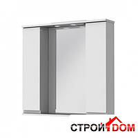 Зеркало Ювента Моника МШНЗ3-87 корпус венге, фасад белый