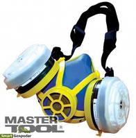 """MasterTool  Респиратор """"Тополь""""  А1Р1 (2 фильтра), Арт.: 82-0146"""