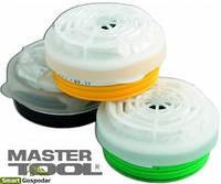 """MasterTool  Фильтр сменный для респиратора """"Тополь"""" А1Р1, Арт.: 82-0150"""