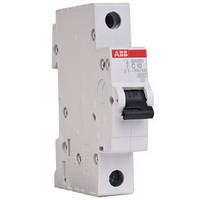 Автоматический выключатель АВВ SH 201-B 10A однополюсный