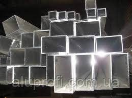 Труба алюминиевая 50х20х2,0мм АД31
