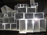 Труба алюминиевая 50х40х4мм 6060