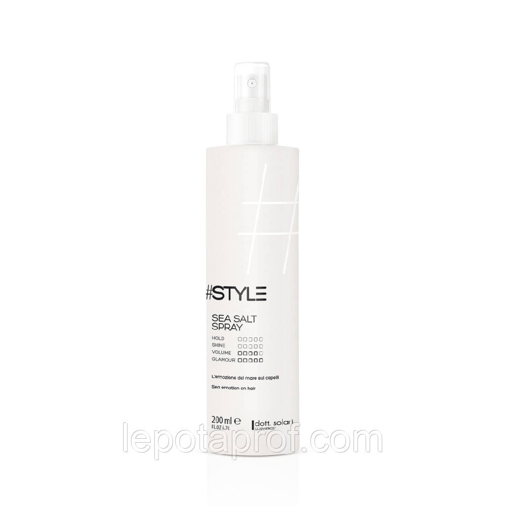 Спрей морская соль Dott. Solari Style Sea Salt Spray 200 ml