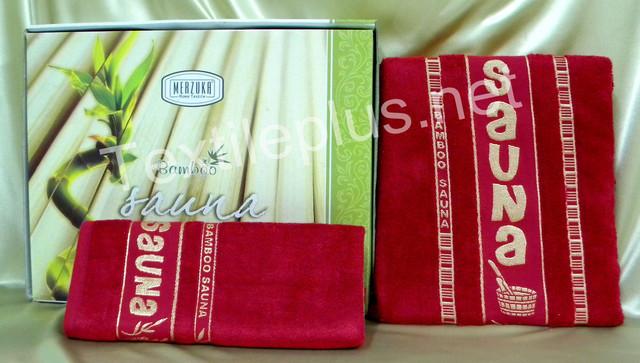 Набор для сауны бамбук