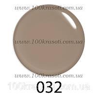 Гель-лак G.La Color, 10ml, цвет №032 (бежево-серый)