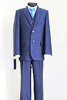 Синий школьный  костюм на мальчика №31/3-15  -СВ 126/2