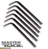 MasterTool  Ключ шестигранный CV 3,0мм L20-98мм, 10шт, Арт.: 75-0003