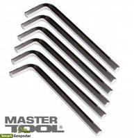 MasterTool  Ключ шестигранный CV 7,0мм L36-142мм, 10шт, Арт.: 75-0007