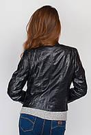 Куртка стильная экокожа 659K001 (Черный)