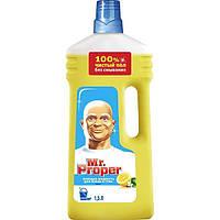Средство для мытья полов и стен Mr.Proper лимон 1.5 л N50713257