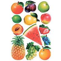 Декоративная наклейка Ассорти фруктов 49x70 см N50613498