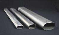 Труба алюминиевая овальная 43х18х1,5мм АД31, фото 1