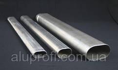 Труба алюминиевая овальная 43х18х1,5мм АД31