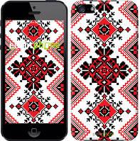 """Чехол на iPhone 5 Вышиванка 51 """"1725c-18-716"""""""