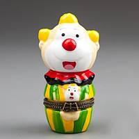 Шкатулочка Веселый клоун (9 см) Код:118792