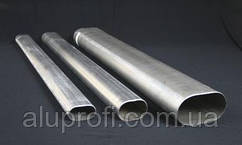 Труба алюминиевая овальная 40х20х3 мм АД31