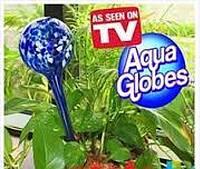 Шар для автополива растений Аква Глоб 2шт Код:101274