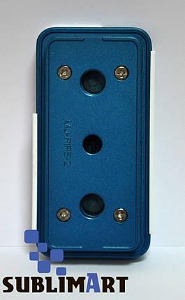 Металлическая форма для печати на чехлах под Iphone 5/5S силикон+пластик, фото 2