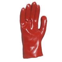 Перчатки с ПВХ покрытием PVC7327 красные N10302676