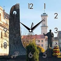 Настенные Часы Panorama Памятник Т.Г. Шевченко Львов Код:118654