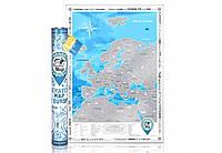 Скретч карта Discovery Maps Europe на английском языке Код:112443