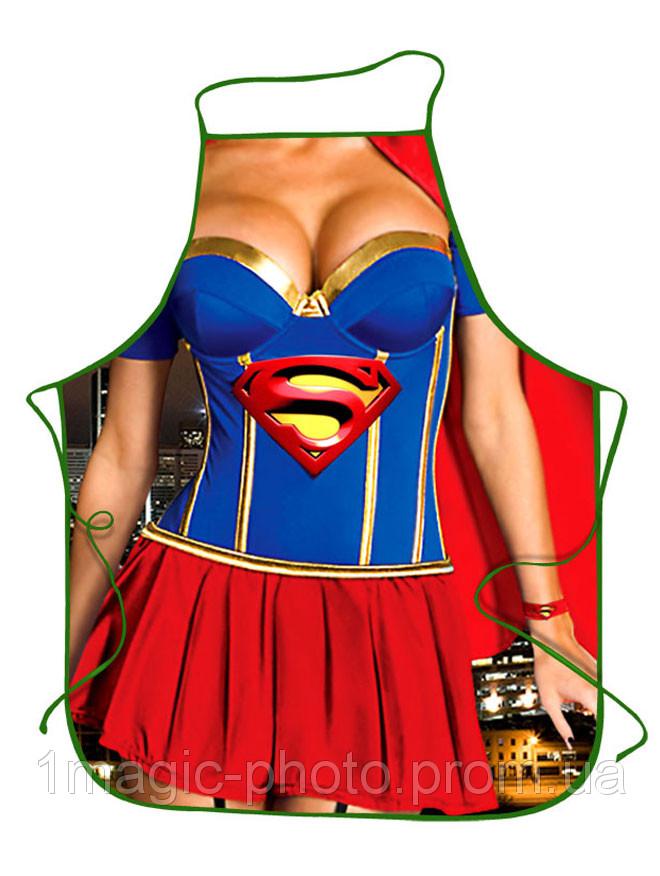 Прикольные фартуки Супервумен