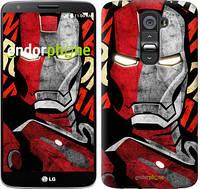 "Чехол на LG G2 Iron Man ""2764u-37-716"""