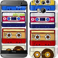 """Чехол на HTC One M8 Музыкальная ностальгия """"4021c-30-716"""""""