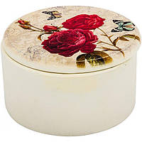Сундук для украшений Provence белый 12x7 см N51105754